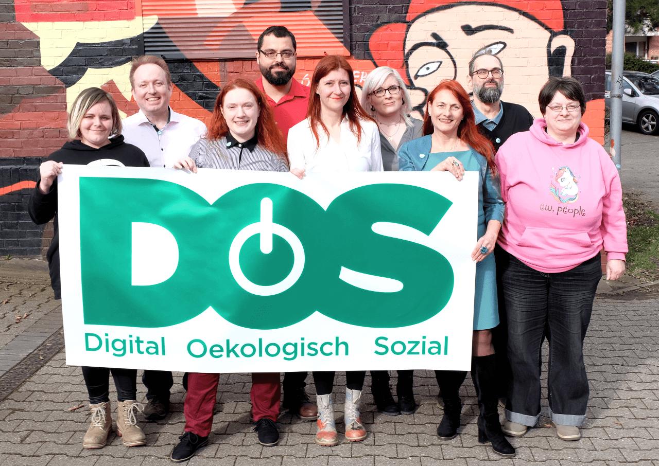 Gruppenbild des DOS Partei Bundesvorstands